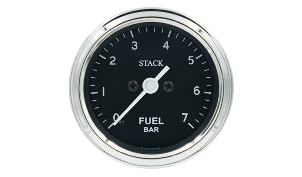 Stack Professional Fuel Pressure Gauge (0-7 bar) - black - CLASS