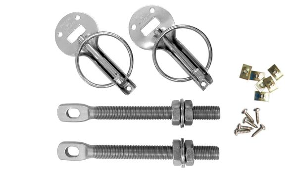 Bonnet Pins Kit - stainless steel