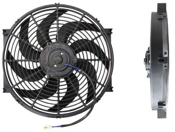 "14"" Electric Thermo Fan Curved Blades"