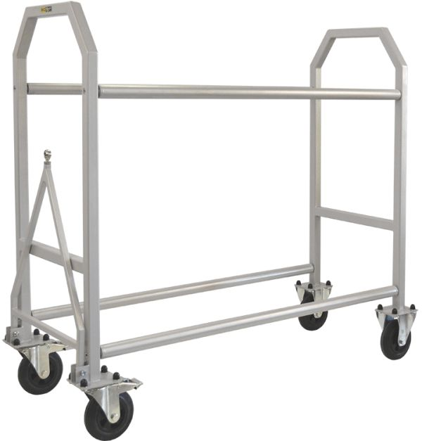 Powder Coated Wheel & Tyre Trolley 1300mm