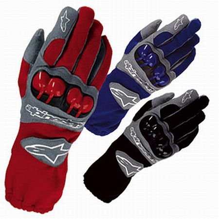Alpinestars F1-KV gloves blue/M