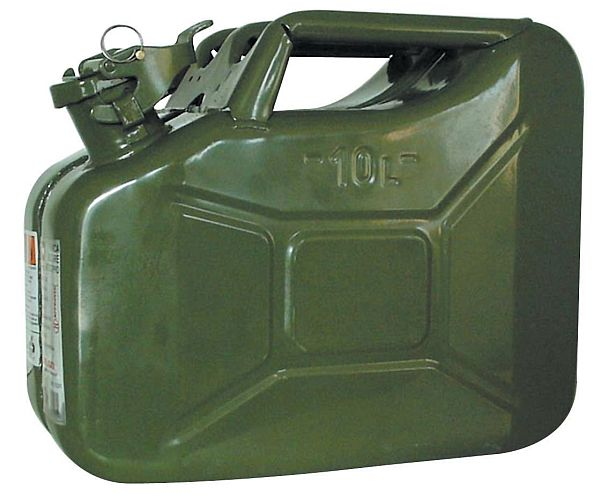 Jerry can 10 lt.