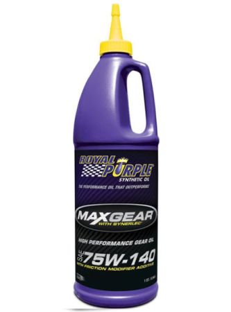 Max-Gear synthetic gear oil 75W140