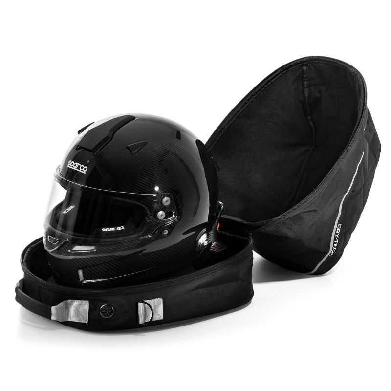 Sparco Dry-Tech helmet and collar F.H.R. bag