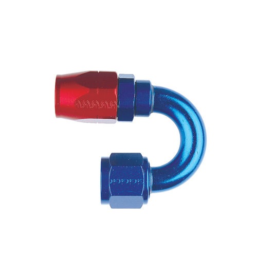 180º swept tube hose end 7/8 X 14 JIC