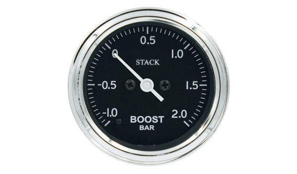 Stack Professional Turbo Boost Pressure Gauge (-1.0+2.0 bar) - b