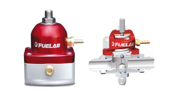 Fuelab high flow fuel pressure regulator