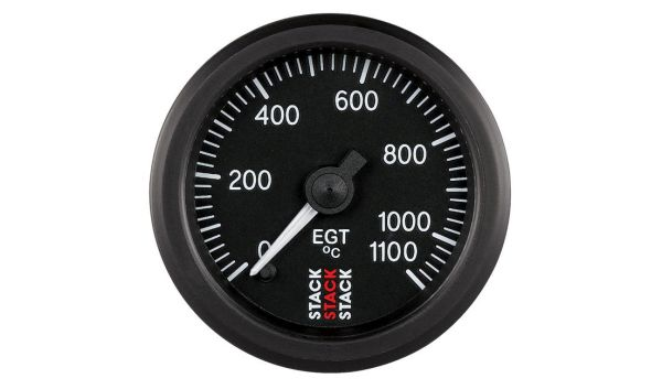 Stack Professional Exhaust Gas Temperature Gauge (0-1100°C)