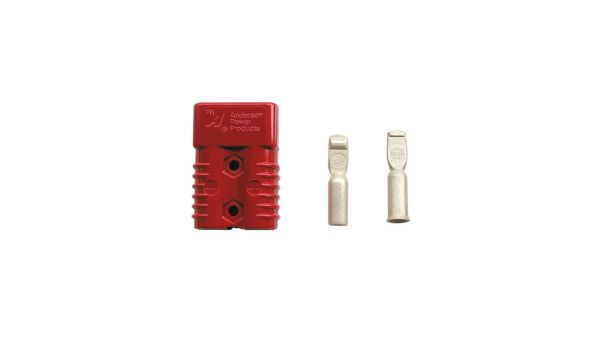 Red Anderson 175 ampere Jump Plug