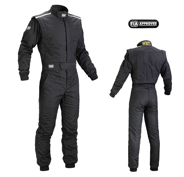 Omp First - S suit Black/60