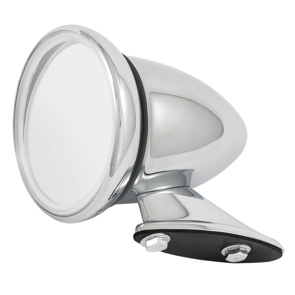 Stainless Steel Classic Racing Mirror