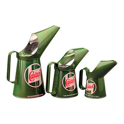 Castrol Set Of 3 Replica Pouring Cans